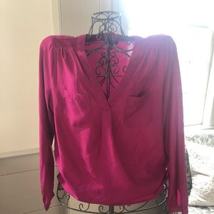 Willi Smith Pink Blouse